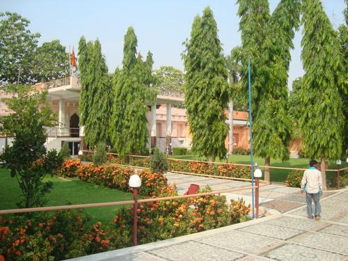 Ashram campus