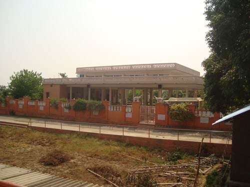 Place where swami Adgadanand ji maharaj meet to public