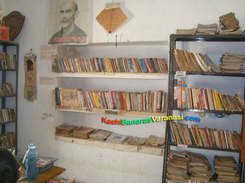 Munshi Premchand like the kite flying that is why kite is kept in his library