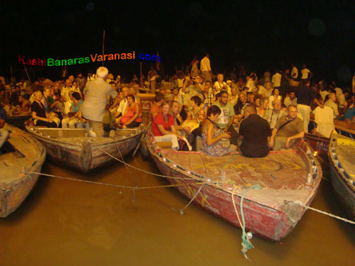 Ganga Arti in Varanasi