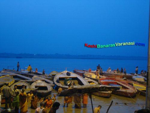 Benaras ghats